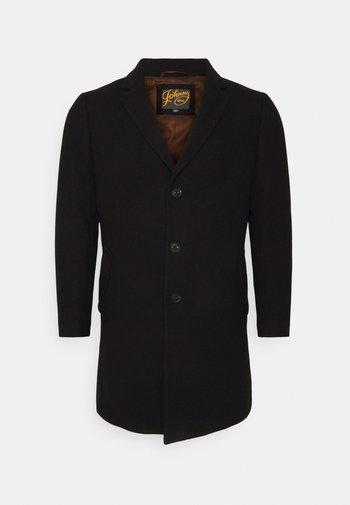 CADE TEXTURED COAT - Kort kappa / rock - black