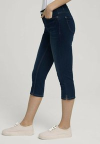 TOM TAILOR - Denim shorts - used mid stone blue denim - 3