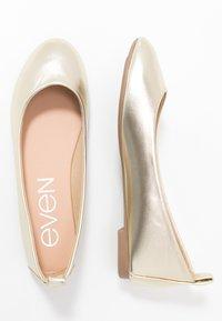 Even&Odd - Ballet pumps - gold - 3