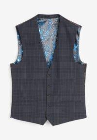 Next - Suit waistcoat - blue - 3