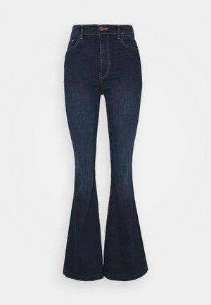 RACHEL HIGH RISE - Široké džíny - indigo