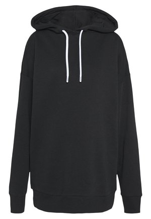 OVERSIZED HOODY - Sweatshirt - black