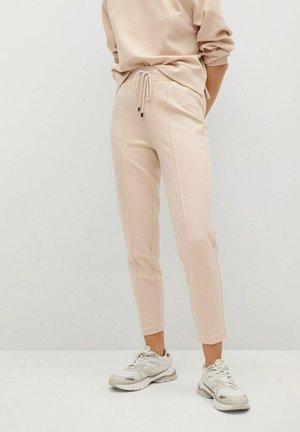 PIQUE8 - Pantalon de survêtement - zand