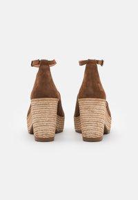 Felmini - MESHA - High heeled sandals - brown - 3