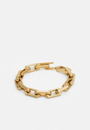 URBAN LEGEND T BAR LOGO BOLD CHAIN UNISEX - Pulsera - gold-coloured