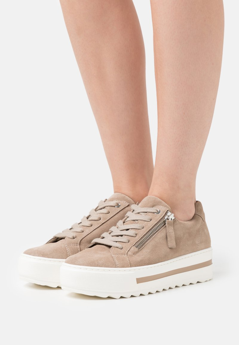 Gabor Comfort - Trainers - taupe