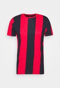 Brave Soul - BERTONIB - T-shirt con stampa - rich navy/red - 4