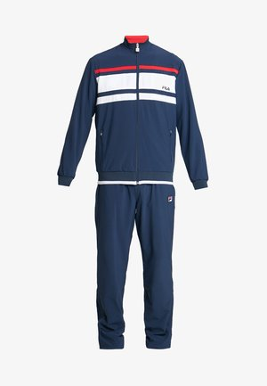 SUIT THEO - Trainingspak - peacoat blue/white/red