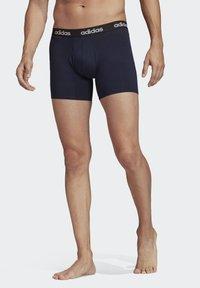 adidas Performance - BRIEFS 3 PAIRS - Pants - blue - 0