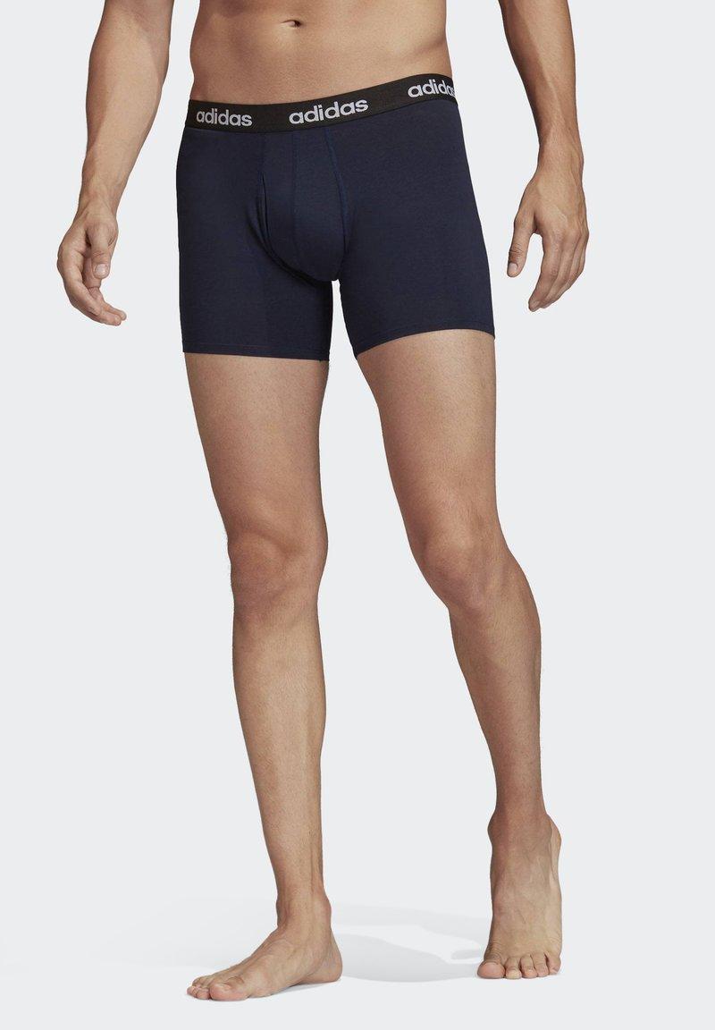 adidas Performance - BRIEFS 3 PAIRS - Pants - blue