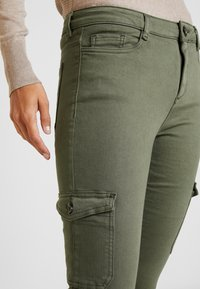 edc by Esprit - Jeans Skinny Fit - khaki green - 4