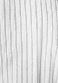 CAWÖ - CARRERA - Dressing gown - weiß/grau - 6