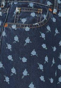 Monki - MINI FLOWER - Straight leg jeans - blue - 6