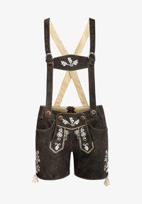 Almsach - Leather trousers - schwarz - 0
