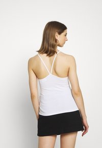Weekday - BELLOZA SINGLET 2 PACK - Top - black /white