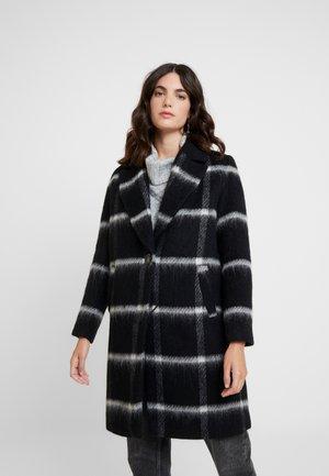 Manteau classique - huge black/white