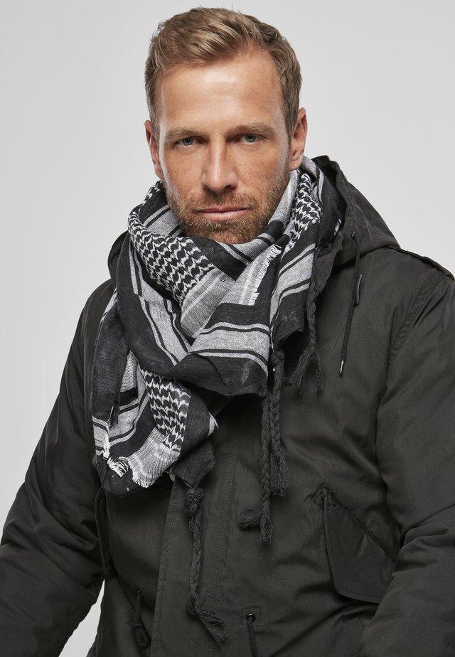 Foulard - black/white