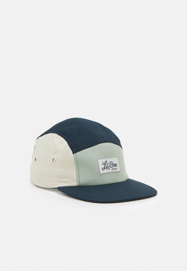 BLOCK - Cap - stone green/sand/navy