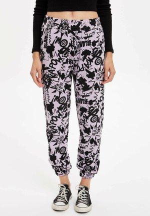 Pantalones - purple