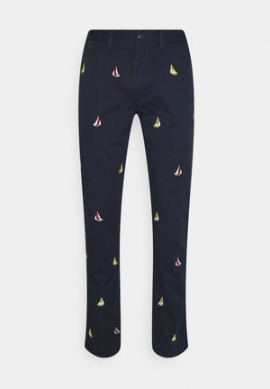 SLIM FIT BEDFORD PANT - Chino kalhoty - nautical ink