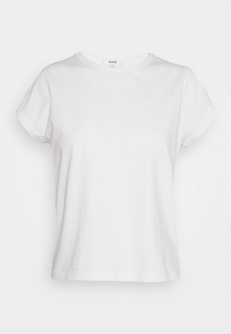 Agolde - SHRUNKEN TEE - Basic T-shirt - tissue
