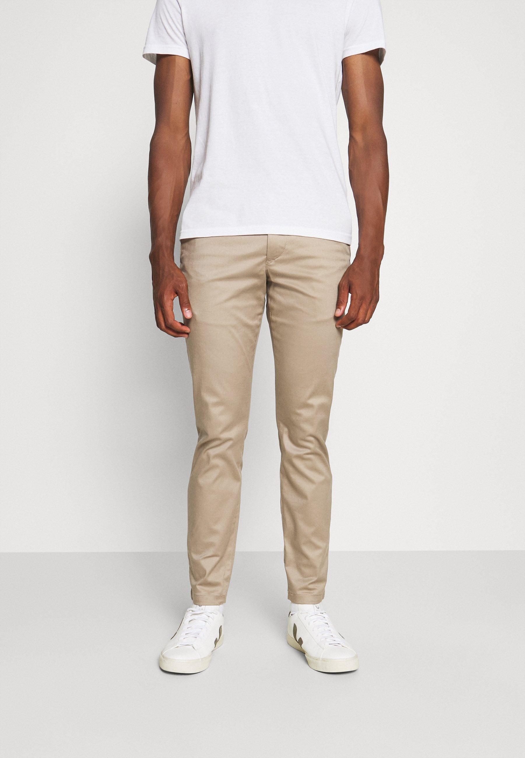 Men SLHSLIM BUCKLEY FLEX PANTS - Trousers