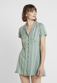 Obey Clothing - AMALFI DRESS - Shirt dress - pistachio - 0