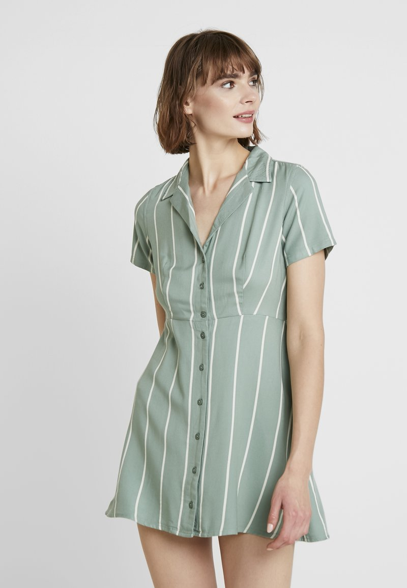 Obey Clothing - AMALFI DRESS - Shirt dress - pistachio