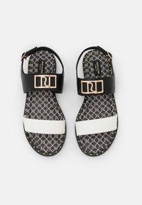 River Island Wide Fit - Sandals - black - 5