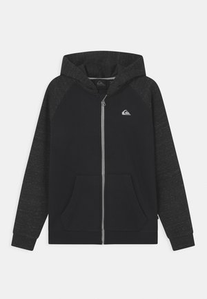 EASY DAY ZIP YOUTH - Sweat à capuche zippé - black