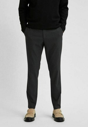FLEX - Trousers - medium grey melange