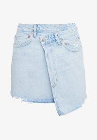 Agolde - CRISS CROSS SKIRT - Denim skirt - blue denim - 4