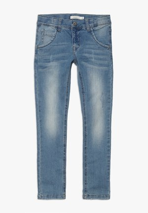 NKMSILAS DNMTRACE PANT - Slim fit jeans - light blue denim