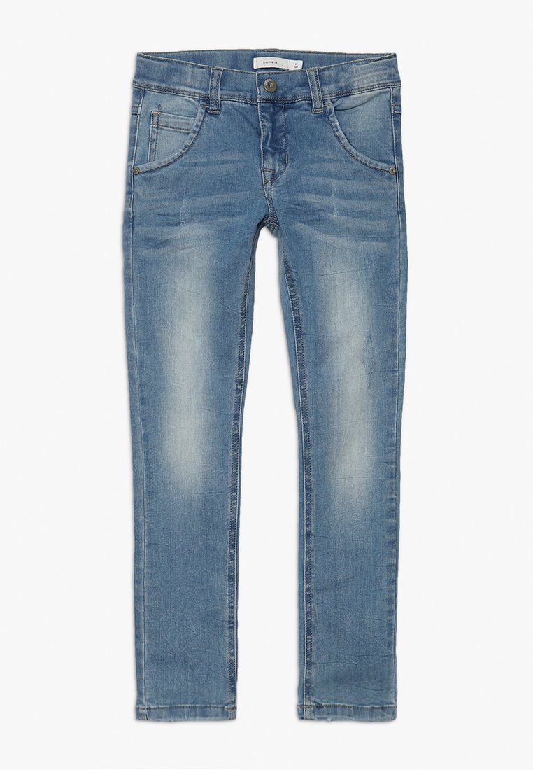 Name it - NKMSILAS DNMTRACE PANT - Slim fit jeans - light blue denim