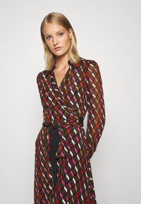 Diane von Furstenberg - BROOKE DRESS - Cocktail dress / Party dress - wood brown - 4