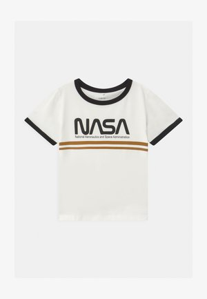 NASA ANNI  - Print T-shirt - snow white