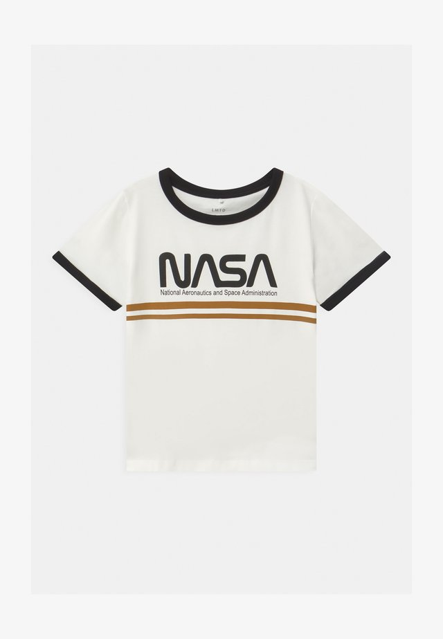 NASA ANNI  - T-shirt imprimé - snow white