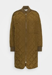 Short coat - brown medium dusty