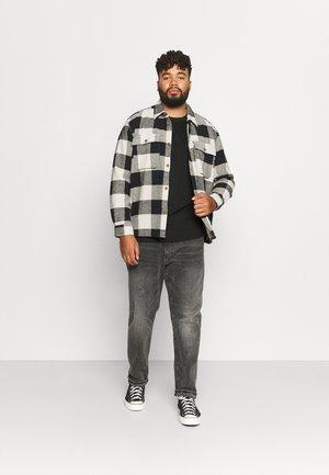 LONGSLEEVE 2 PACK - Long sleeved top - charcoal/white
