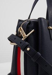 Tommy Hilfiger - CORE SATCHEL CORP - Handbag - blue - 6