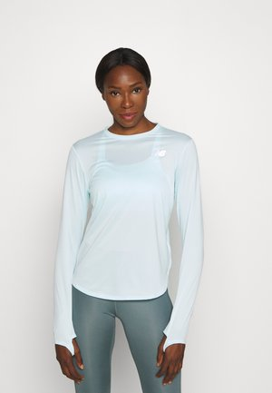 ACCELERATE LONG SLEEVE - Sportshirt - pale blue chill