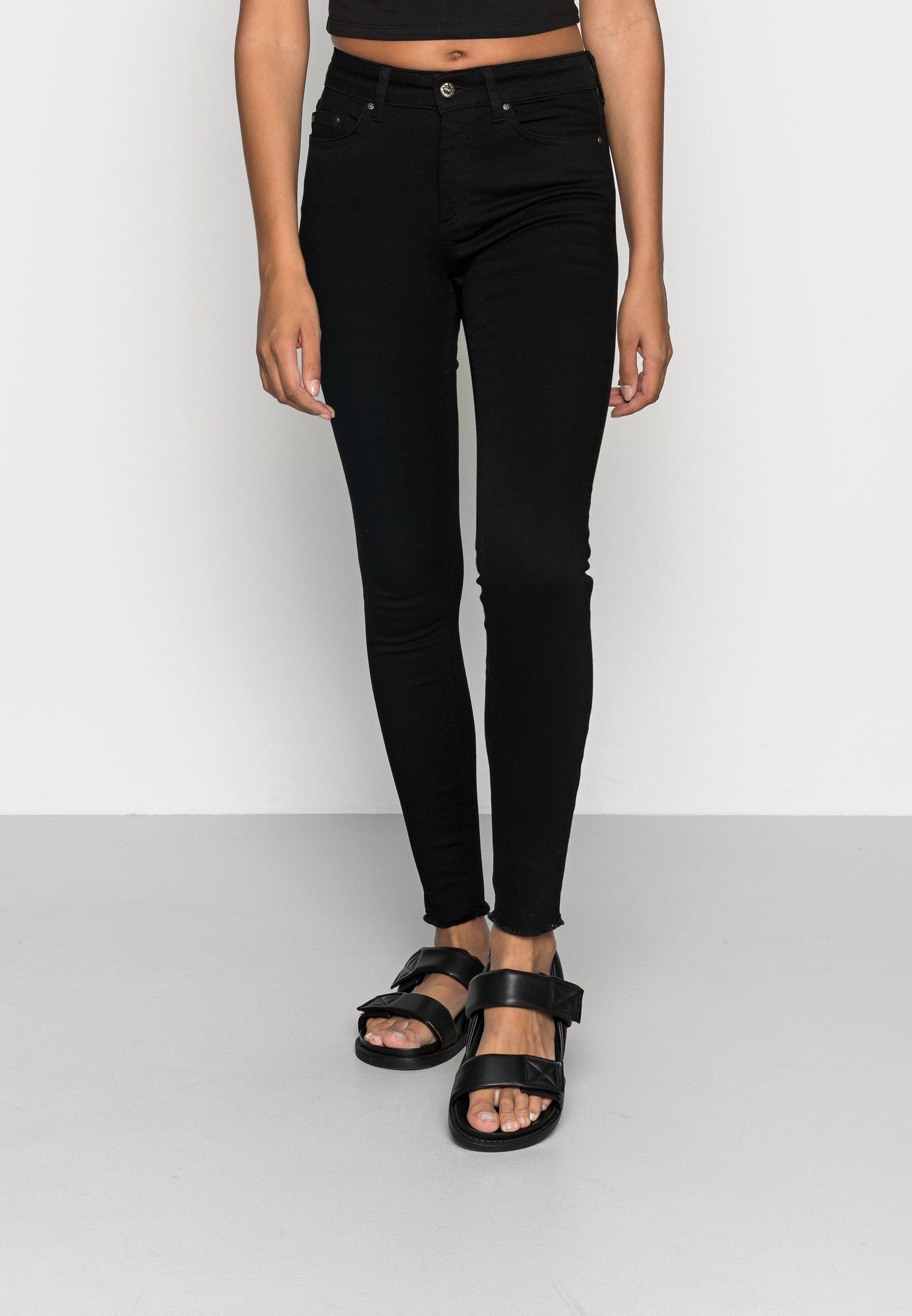 Donna ONLBLUSH MID RAW - Jeans Skinny Fit