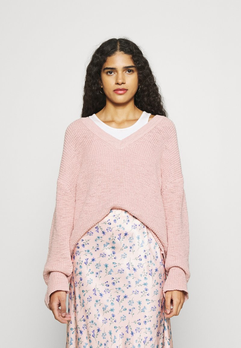 Another-Label - SATSUKI PULL - Svetr - dusty pink