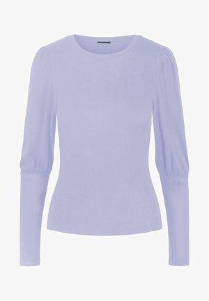 OBERTEIL STATEMENT-ÄRMEL - Long sleeved top - purple heather