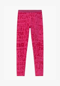 Desigual - MONOGRAM - Leggings - Trousers - red - 0