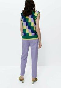 Uterqüe - Straight leg jeans - lilac - 3