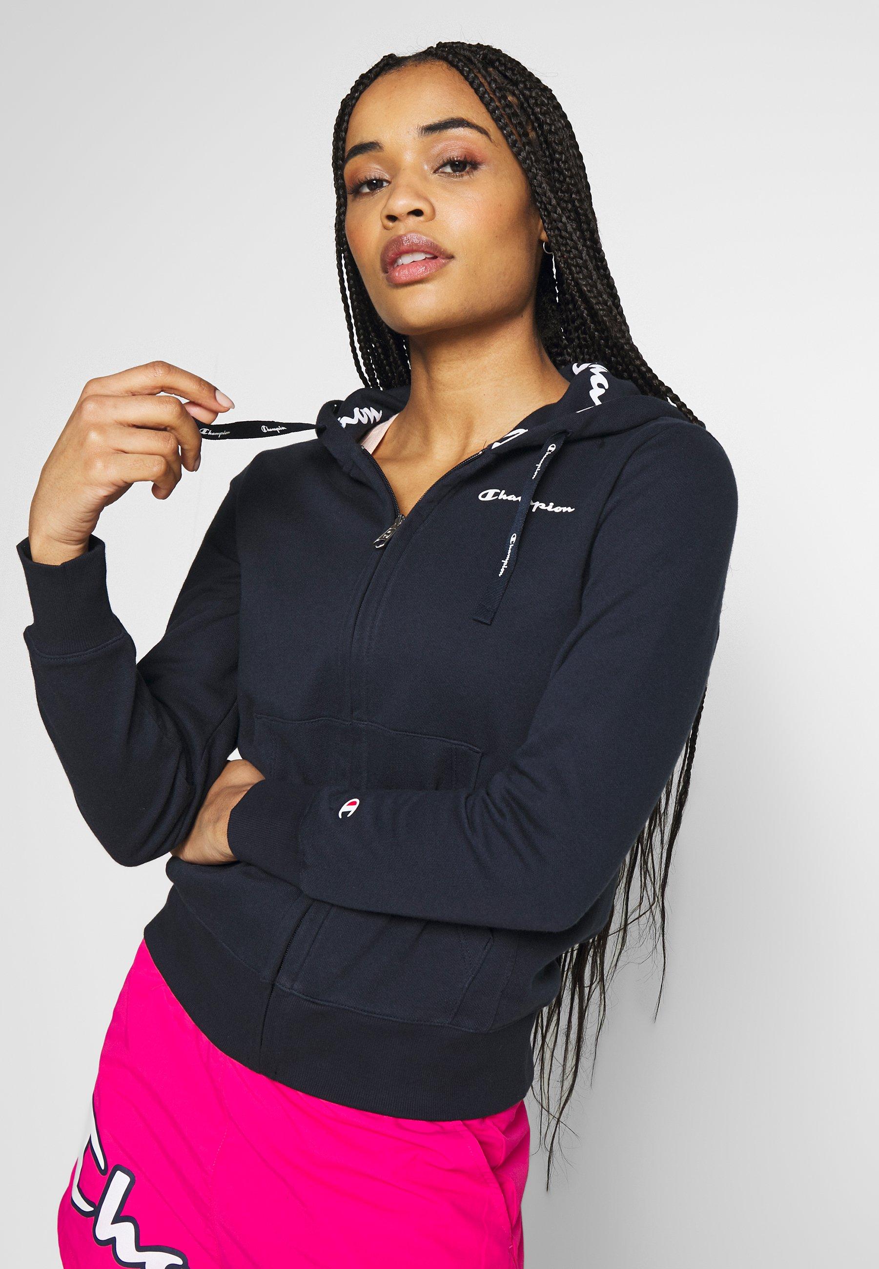Women HOODED FULL ZIP - Zip-up sweatshirt