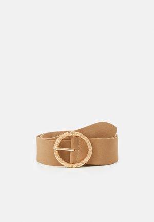 STAUPE - Waist belt - camel
