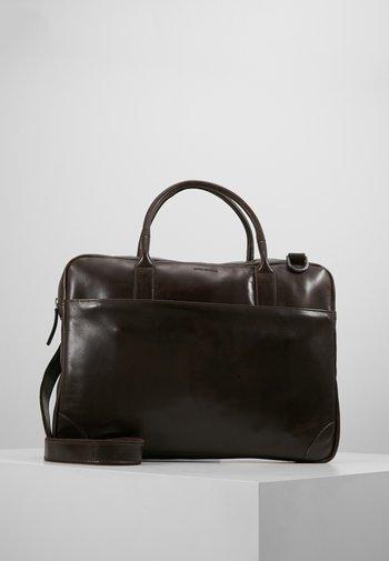 EXPLORER LAPTOP BAG SINGLE - Briefcase - brown