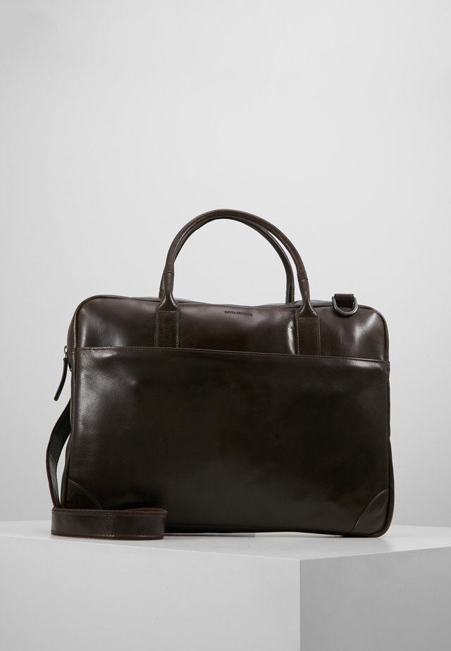 EXPLORER LAPTOP BAG SINGLE - Briefcase - brown